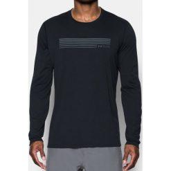 Under Armour Koszulka męska RUN GRAPHIC LS czarna r. XL (1299042). Białe koszulki sportowe męskie marki Adidas, l, z jersey, do piłki nożnej. Za 101,16 zł.