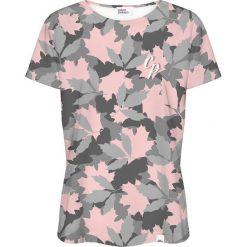 Colour Pleasure Koszulka damska CP-030 257 szaro-różowa r. M/L. Czerwone bluzki damskie marki Colour pleasure, l. Za 70,35 zł.