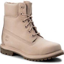 Trapery TIMBERLAND - 6 In Prem Mono A1K3Z/TB0A1K3Z6621 Lt Pnk. Czerwone buty zimowe damskie Timberland, z gumy. W wyprzedaży za 559,00 zł.