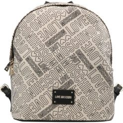 Plecaki damskie: Love Moschino PRINTED BACKBACK Plecak beige