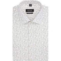 Koszule męskie: koszula bexley 2836 krótki rękaw custom fit beż