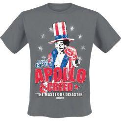 T-shirty męskie: Rocky Apollo Creed T-Shirt ciemnoszary