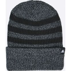 Adidas Performance - Czapka. Czarne czapki zimowe męskie adidas Performance, na zimę, z dzianiny. W wyprzedaży za 59,90 zł.