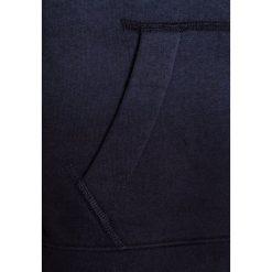 Abercrombie & Fitch CORE  Bluza rozpinana navy/grey dip dye. Niebieskie bluzy chłopięce rozpinane Abercrombie & Fitch, z bawełny. Za 189,00 zł.