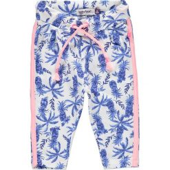 Spodnie niemowlęce: Spodnie w kolorze niebiesko-różowym