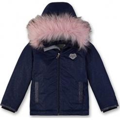 Kurtka zimowa w kolorze granatowym. Niebieskie kurtki dziewczęce zimowe marki Eat ants. W wyprzedaży za 245,95 zł.