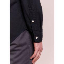 Polo Ralph Lauren OXFORD SLIM FIT Koszula black. Szare koszule męskie slim marki Polo Ralph Lauren, l, z bawełny, button down, z długim rękawem. Za 459,00 zł.