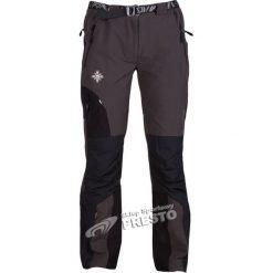 Spodnie dresowe damskie: Milo Spodnie trekkingowe damskie Uttar szaro-czarny r. XL