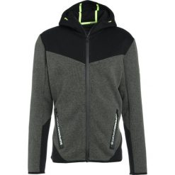 Superdry GYM TECH BLOCKED ZIPHOOD Bluza rozpinana desert olive marl/black. Zielone bluzy męskie rozpinane marki Superdry, m, z bawełny, sportowe. W wyprzedaży za 386,10 zł.