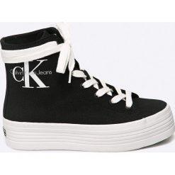 Calvin Klein Jeans - Trampki. Szare tenisówki damskie Calvin Klein Jeans, z gumy. Za 399,90 zł.