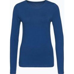 Franco Callegari - Damska koszulka z długim rękawem, niebieski. Zielone t-shirty damskie marki Franco Callegari, z napisami. Za 89,95 zł.
