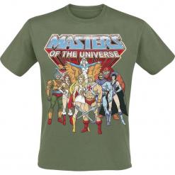 Masters Of The Universe He-Man - Group T-Shirt zielony. Zielone t-shirty męskie z nadrukiem Masters Of The Universe, m, z okrągłym kołnierzem. Za 74,90 zł.
