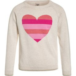 Swetry damskie: OshKosh STRIPED HEART CREW Sweter heather