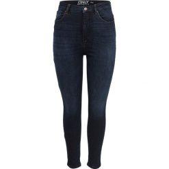 Dżinsy skinny. Szare rurki damskie marki La Redoute Collections, m, z bawełny, z kapturem. Za 245,66 zł.
