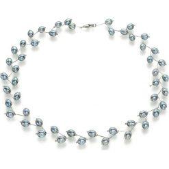 Naszyjniki damskie: Naszyjnik z perłami – (D)17 cm