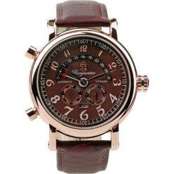 """Zegarki męskie: Zegarek """"Nevada"""" w kolorze brązowo-różowozłotym"""