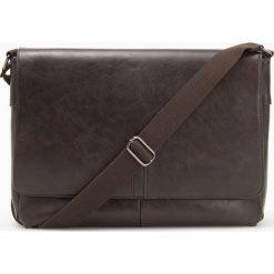 Torba na ramię - Brązowy. Brązowe torby na ramię męskie Reserved, na ramię. Za 129,99 zł.
