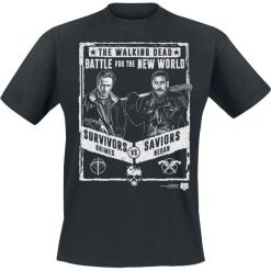 T-shirty męskie: The Walking Dead Negan Fight T-Shirt czarny
