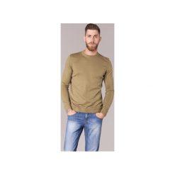 Swetry BOTD  ELABASE ROUND. Brązowe swetry klasyczne męskie BOTD, l. Za 109,00 zł.
