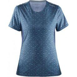 Craft Koszulka Mind Ss Blue Xs. Niebieskie bluzki sportowe damskie marki Craft, xs, z materiału. W wyprzedaży za 89,00 zł.
