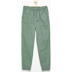 Odzież dziecięca: Bawełniane spodnie jogger - Zielony