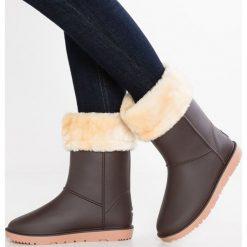 Gioseppo Kalosze chocolate. Brązowe buty zimowe damskie marki Gioseppo, z materiału. W wyprzedaży za 155,35 zł.