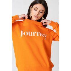 Bluzy damskie: Samsoe & Samsoe Bluza Apo O-N - Orange