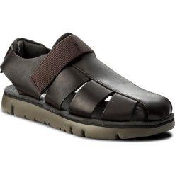 Sandały CAMPER - Oruga Sandal K100285-002 Brown. Brązowe sandały męskie skórzane Camper. W wyprzedaży za 329,00 zł.