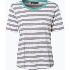 Franco Callegari - T-shirt damski, szary. Zielone t-shirty damskie marki Franco Callegari, z napisami. Za 69,95 zł.