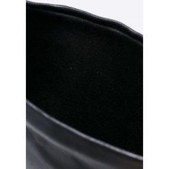 Steve Madden - Kozaki. Czarne botki damskie na obcasie marki Steve Madden, z materiału. W wyprzedaży za 599,90 zł.