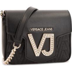 Torebka VERSACE JEANS - E1VSBBI2  70784 899. Czarne listonoszki damskie Versace Jeans, z jeansu. Za 649,00 zł.