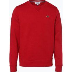 Lacoste - Męska bluza nierozpinana, czerwony. Szare bluzy męskie rozpinane marki Lacoste, z bawełny. Za 399,95 zł.