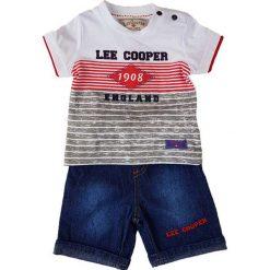 T-shirty chłopięce z nadrukiem: 2-częściowy zestaw w kolorze niebiesko-czerwonym