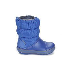 Śniegowce Dziecko Crocs  WINTER PUFF BOOT KIDS. Niebieskie buty zimowe chłopięce Crocs. Za 179,00 zł.