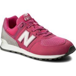 Buty sportowe dziewczęce: Sneakersy NEW BALANCE – GC574D6 Różowy