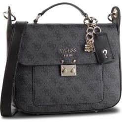 Torebka GUESS - HWSG71 74180 COAL. Czarne torebki klasyczne damskie Guess, z aplikacjami, ze skóry ekologicznej. Za 599,00 zł.