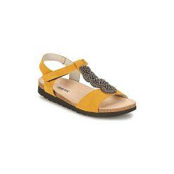 Sandały Arcus  OPERON. Żółte sandały damskie Arcus. Za 426,30 zł.