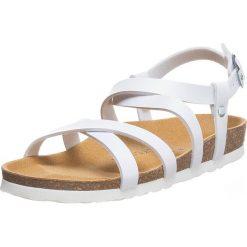 Buty damskie: Sandały w kolorze białym