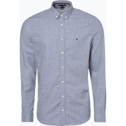 Tommy Hilfiger - Koszula męska, niebieski. Szare koszule męskie marki TOMMY HILFIGER, z bawełny. Za 399,95 zł.