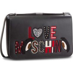 Torebka LOVE MOSCHINO - JC4290PP06KM0000 Nero. Czarne listonoszki damskie Love Moschino, ze skóry ekologicznej. Za 919,00 zł.