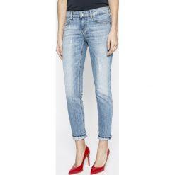 Liu Jo - Jeansy Monroe. Niebieskie proste jeansy damskie Liu Jo, z bawełny. Za 949,90 zł.