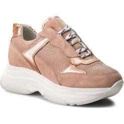 Sneakersy TOGOSHI - TG-03-01-000017 603. Brązowe sneakersy damskie Togoshi, ze skóry. W wyprzedaży za 259,00 zł.