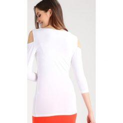 Bluzki asymetryczne: Baukjen LILA  Bluzka z długim rękawem pure white