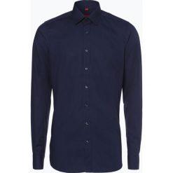 Finshley & Harding - Koszula męska z bardzo długim rękawem – Red Label, niebieski. Czarne koszule męskie marki Finshley & Harding, w kratkę. Za 129,95 zł.