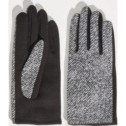 Akcesoria: Dwukolorowe rękawiczki - Wielobarwn