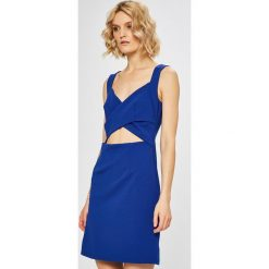Morgan - Sukienka. Szare sukienki mini marki Morgan, na co dzień, z elastanu, casualowe, dopasowane. W wyprzedaży za 199,90 zł.