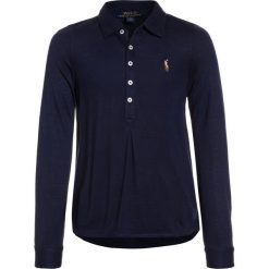 Polo Ralph Lauren Koszulka polo french navy. Niebieskie t-shirty chłopięce marki Adidas, z kontrastowym kołnierzykiem, z krótkim rękawem. Za 299,00 zł.