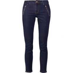 Boyfriendy damskie: 2nd Day SALLY CROPPED ZIP Jeans Skinny Fit indigo