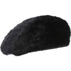 Czapka futrzana. Czarne czapki zimowe damskie Ochnik, z dzianiny. Za 599,90 zł.