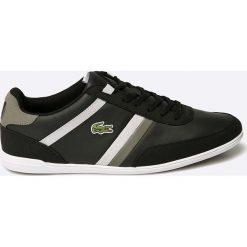Lacoste - Buty. Czarne buty skate męskie Lacoste, z gumy. W wyprzedaży za 269,90 zł.